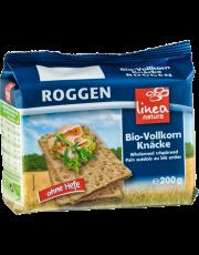 linea natura, Roggen Vollkorn Knäcke, 200 g Packung