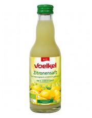 Voelkel, Zitronensaft, demeter, 0,2 l incl. 0,15 EUR Pfand, Flasche