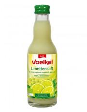 Voelkel, Limettensaft, 0,2 l incl. 0,15 EUR Pfand, Flasche