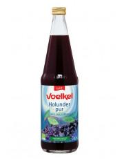 Voelkel, Holunder pur, 100% Muttersaft, 0,7l incl. 0,15 EUR Pfand, Flasche