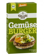 Bauckhof, Gemüse-Burger, 160g Packung