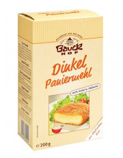 Bauck Hof, Dinkel Paniermehl, 200g Packung