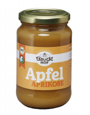 Bauckhof, Apfel-Aprikosenmus, 360g Glas