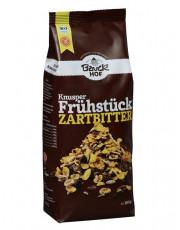 Bauckhof, Knusper Frühstück Zartbitter, glutenfrei, 300g Packung