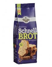 Bauckhof, Schnellbrot mit Brotgewürz, glutenfrei, ohne Hefe, 500g Packung