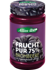 Allos, Frucht pur 75% Brombeere, 250g Glas