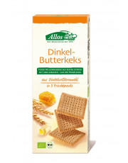 Allos, Dinkel-Butterkeks, 150g Packung