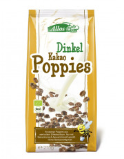 Allos, Dinkel-Kakao-Poppies, 275g Packung