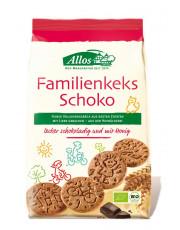 Allos, Familienkeks Schoko, 200g Packung