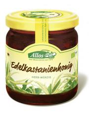 Allos, Edelkastanienhonig, 500g Glas