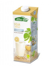 Allos, Soja Drink naturell, 1l Tetra Pack