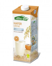 Allos, Hafer Drink naturell, 1l Tetra Pack