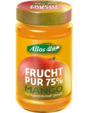 Allos, Frucht pur 75% Mango, 250g Glas
