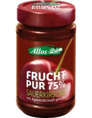 Allos, Frucht pur 75% Sauerkirsche, 250g Glas