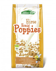 Allos, Hirse-Honig-Poppies, 200g Packung