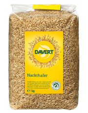 Davert, Nackthafer, 1kg Packung #