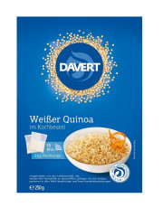 Davert, Weißer Quinoa im Kochbeutel, 250g Packung