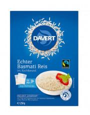 Davert, Basmati Reis im Kochbeutel weiß, 250g Packung