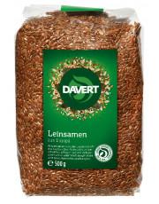 Davert, Leinsaat braun, aus Europa, 500g Packung