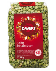 Davert, Schälerbsen halbe, 500g Packung