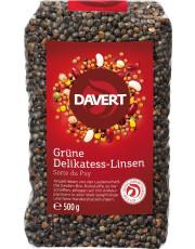 Davert, Grüne Delikatess-Linsen, 500g Packung