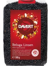 Davert, Beluga Linsen schwarz, 500g Packung