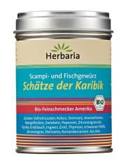Herbaria, Schätze der Karibik, Scampi- und Fischgewürz, 100g Dose