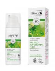 Lavera, Hautbildverfeinerndes Fluid mit Bio-Minze, Zink & Salizylsäure, 50ml Tube