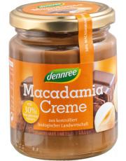 dennree, Macadamia Creme, 250g Glas