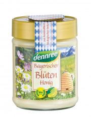 dennree, Bayerischer Blütenhonig, 500g Glas