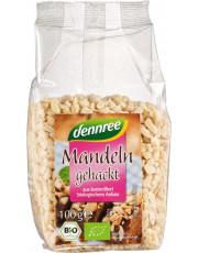 dennree, Mandeln, gehackt, 100g Packung