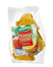 dennree, Mangostücke, 100g Beutel