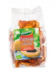 dennree, Papayastücke, 100g Beutel