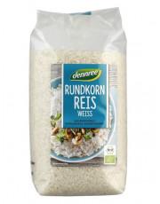 dennree, Rundkorn Reis, weiß, 1kg Packung