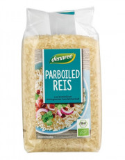 dennree, Parboiled Reis, 500g Packung