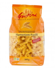 Gustoni, Hartweizen Fusilli, bronze, 500g Packung