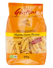 Gustoni, Hartweizen Penne, bronze, 500g Packung