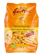 Gustoni, Hartweizen Maccheroni, bronze, 500g Packung