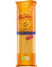 Gustoni, Kamut Spaghetti, bronze, 500g Packung