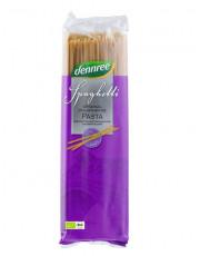 dennree, Vollkorn-Hartweizengrieß, Spaghetti, 500g Packung