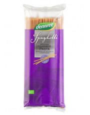 dennree, Vollkorn-Hartweizengrieß, Spaghetti, 1kg Packung