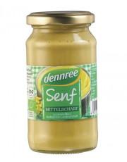 dennree, Mittelscharfer Senf, 200ml, Glas