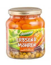 dennree, Erbsen & Möhren, 350g Glas