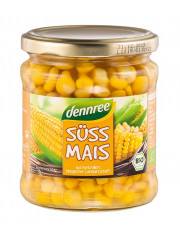 dennree, Süssmais, 330g Glas