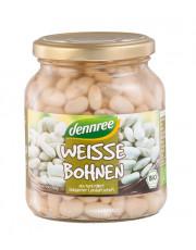 dennree, Weiße Bohnen, 350g Glas