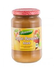 dennree, Apfel-Bananenmark, 360g Glas