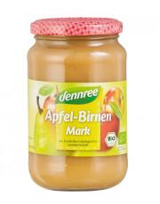 dennree, Apfel-Birnenmark, 360g Glas