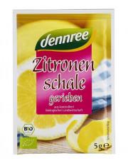 dennree, geriebene Zitronenschale, 5g Beutel