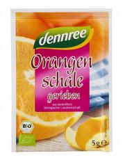 dennree, geriebene Orangenschale, 5g Beutel