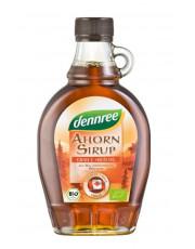 dennree, Ahornsirup Grad C kräftig, 250ml Flasche